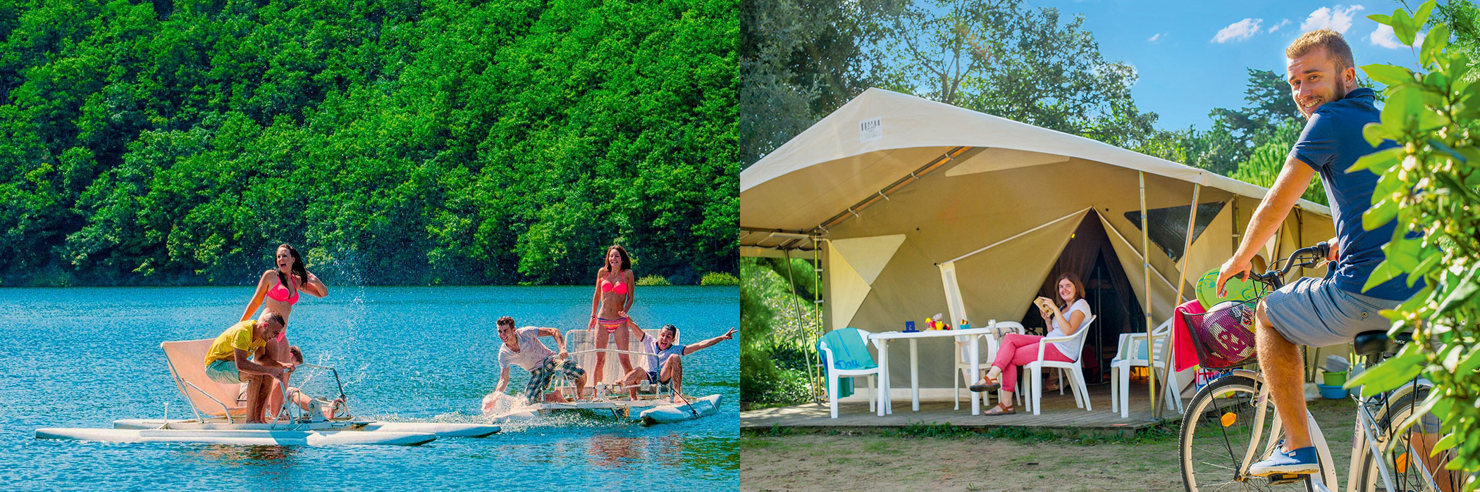 camping deluxe france Glamping famille incroyable meilleur haut gamme plage forêt belles étoiles exception mer 2017 2018