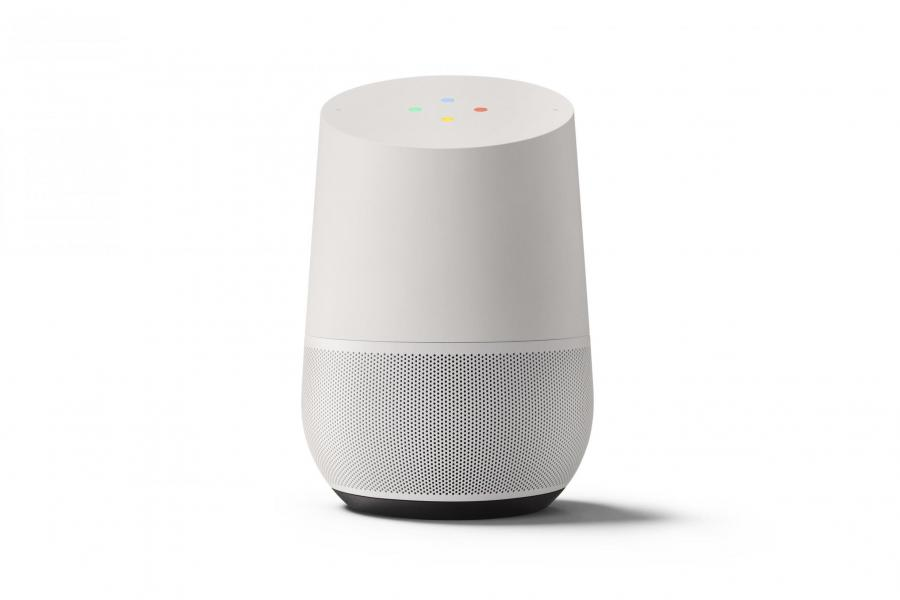 google home la nouvelle enceinte intelligente fr us. Black Bedroom Furniture Sets. Home Design Ideas