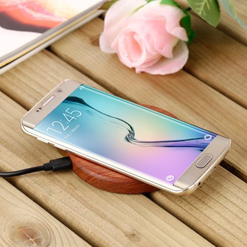 Chargeur induction bois charger contact wood Samsung Blackberry Iphone bambou bamboo art decoration hightech best top meilleur 2018