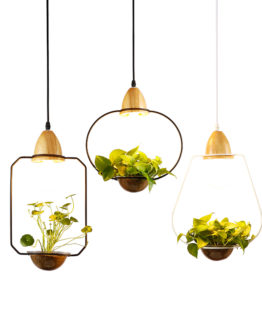Lampe a Suspension Suspensionlamp potdefleur flowerpot light bois wood home maison art decoration hightech best top meilleur 2018 pharaonink