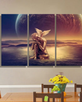 Triptyque Bouddha Peintures Triptych Paintings asianart art deco home maison decoration hightech best top meilleur 2018 pharaonink